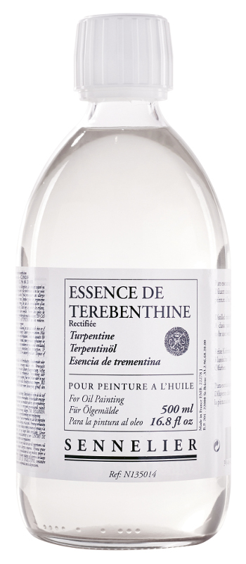 Oljemedium Sennelier Rectified turpentine spirits > 500 ml