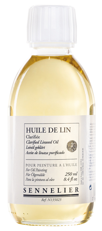 Oljemedium Sennelier Clarified linseed oil > 250 ml