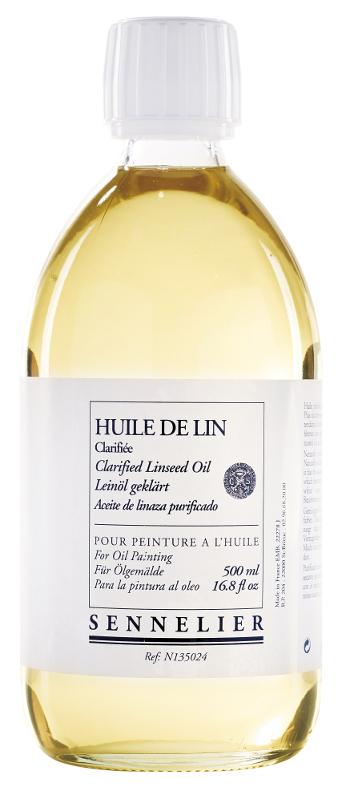 Oljemedium Sennelier Clarified linseed oil > 500 ml