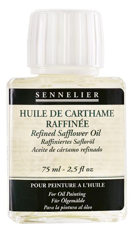 Oljemedium Sennelier Refined safflower oil > of 75 ml (5F)