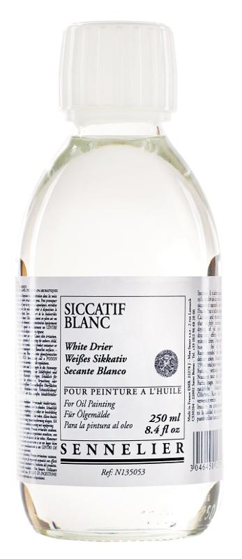 Oljemedium Sennelier White drier > 250 ml