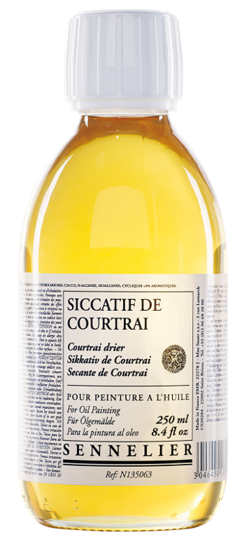 Oljemedium Sennelier Courtrai drier > 250 ml