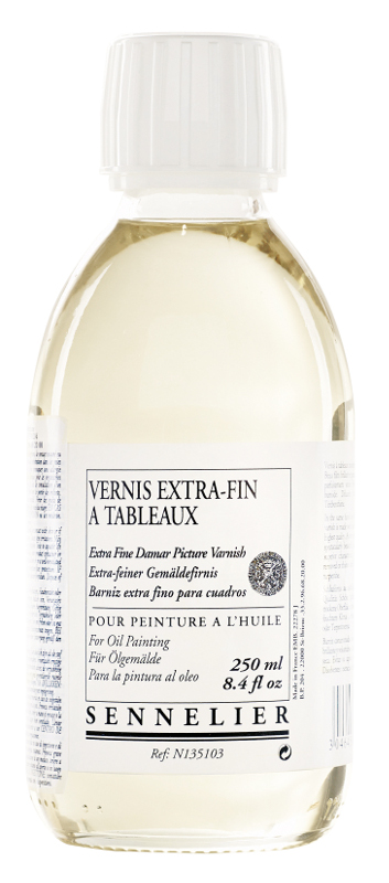 Fernissa Sennelier Extra fine painting varnish Damar 250 ml