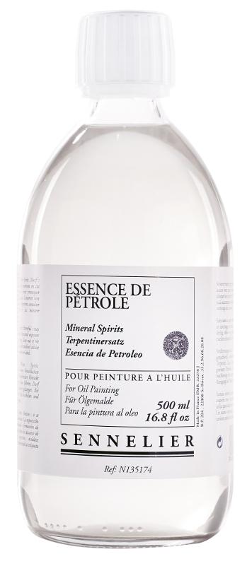 Oljemedium Sennelier Mineral spirits > 500 ml