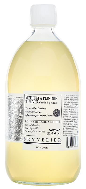 Oljemedium Sennelier Turner painting medium > 1 Liter