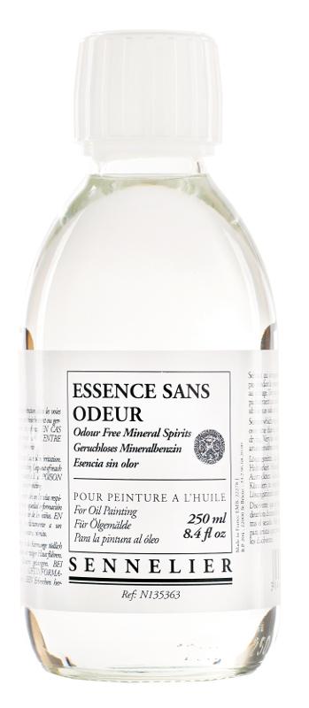 Oljemedium Sennelier Odour free mineral spirits > 250 ml