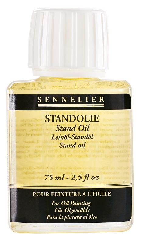 Oljemedium Sennelier Stand oil > 75 ml (5F)