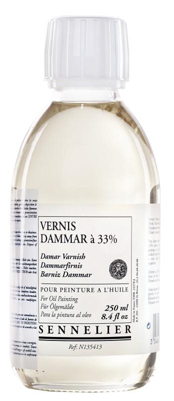 Oljemedium Sennelier Dammar varnish > 250 ml