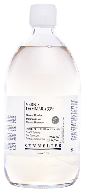 Oljemedium Sennelier Dammar varnish > 1 Liter