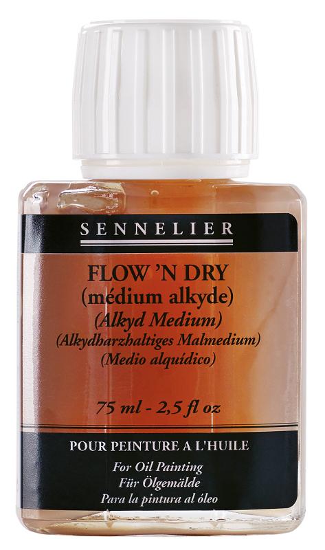 Oljemedium Sennelier Flown Dry > 75 ml (5F)