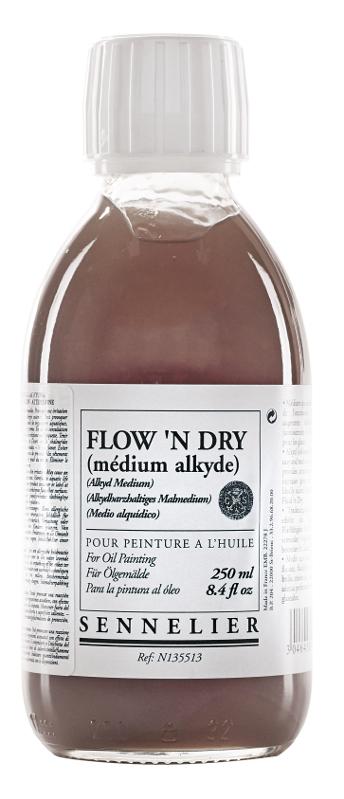Oljemedium Sennelier Flown Dry > 250 ml