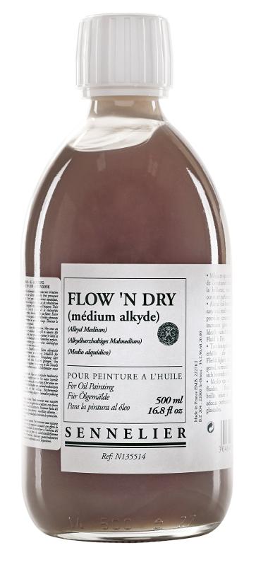 Oljemedium Sennelier Flown Dry > 500 ml