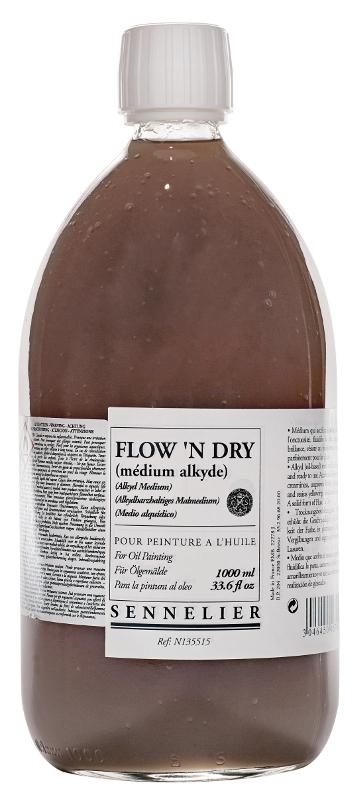 Oljemedium Sennelier Flown Dry > 1 Liter