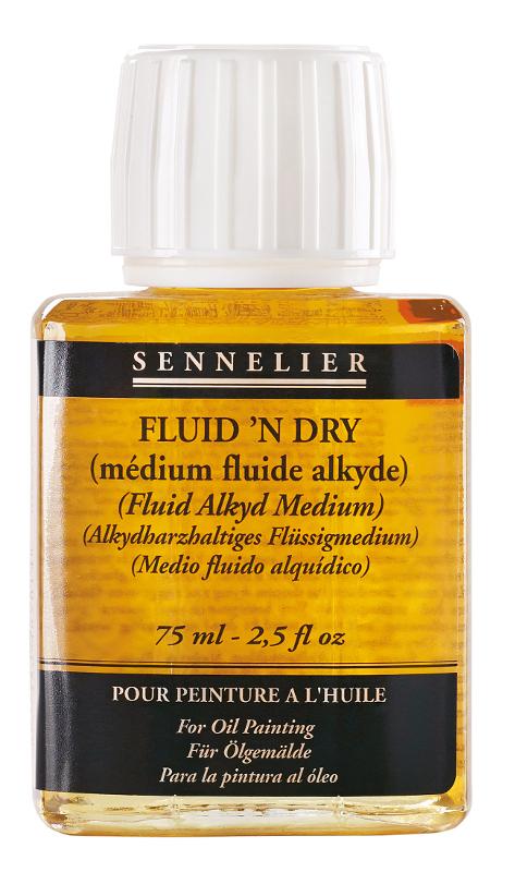 Oljemedium Sennelier Fluidn Dry > 75 ml (5F)