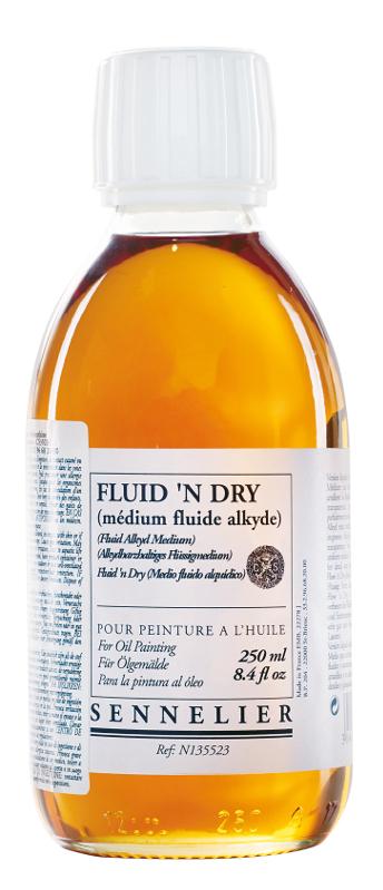 Oljemedium Sennelier Fluidn Dry > 250 ml