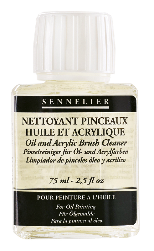 Oljemedium Sennelier Oil & acrylic brush cleaner > 75 ml (5F)