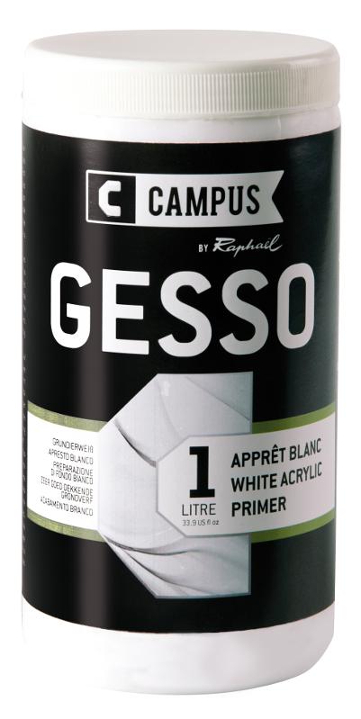 Akrylmedium Campus Acrylic gesso 1 L iter