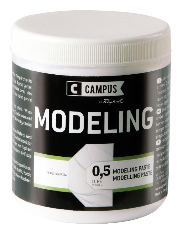 Akrylmedium Campus Modelling paste 500 ml