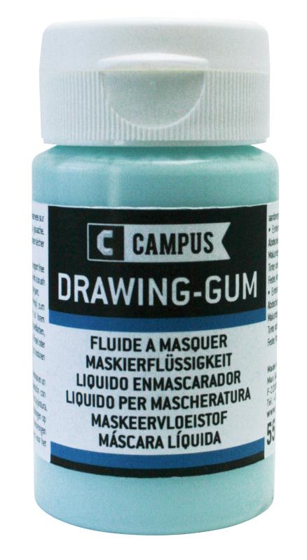 Akrylmedium Campus Drawing-gum 55ML  (5F)