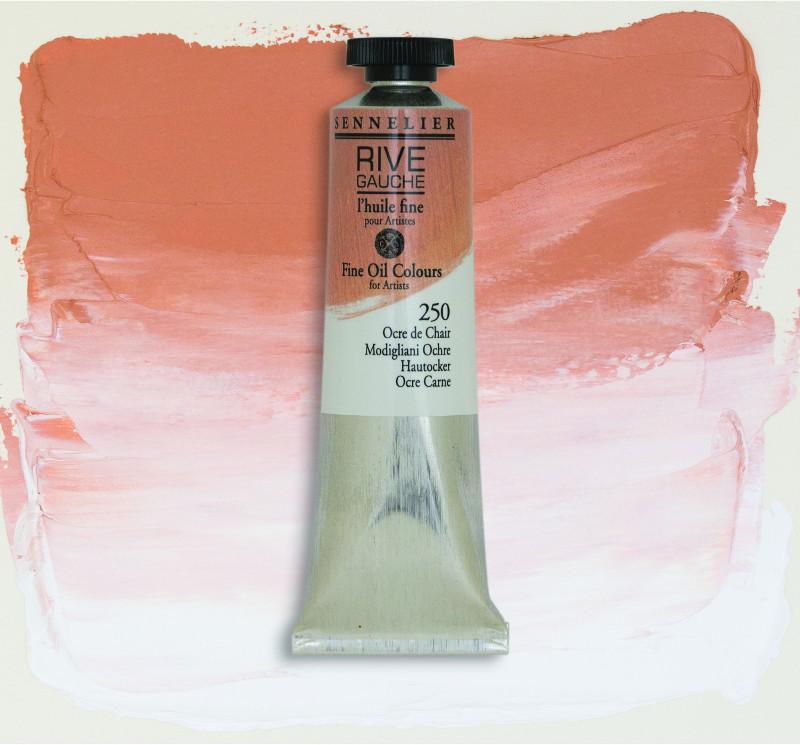 Oljefärg Sennelier Rive Gauche 40ml  Modigliani Ochre 250 (3F)