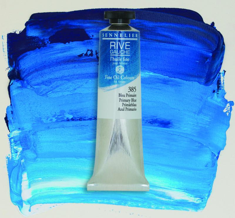 Oljefärg Sennelier Rive Gauche 40ml  Primary Blue 385 (3F)