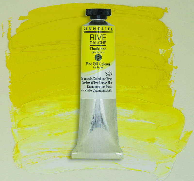 Oljefärg Sennelier Rive Gauche 200ml  Cadmium Yellow Lemon Hue 545