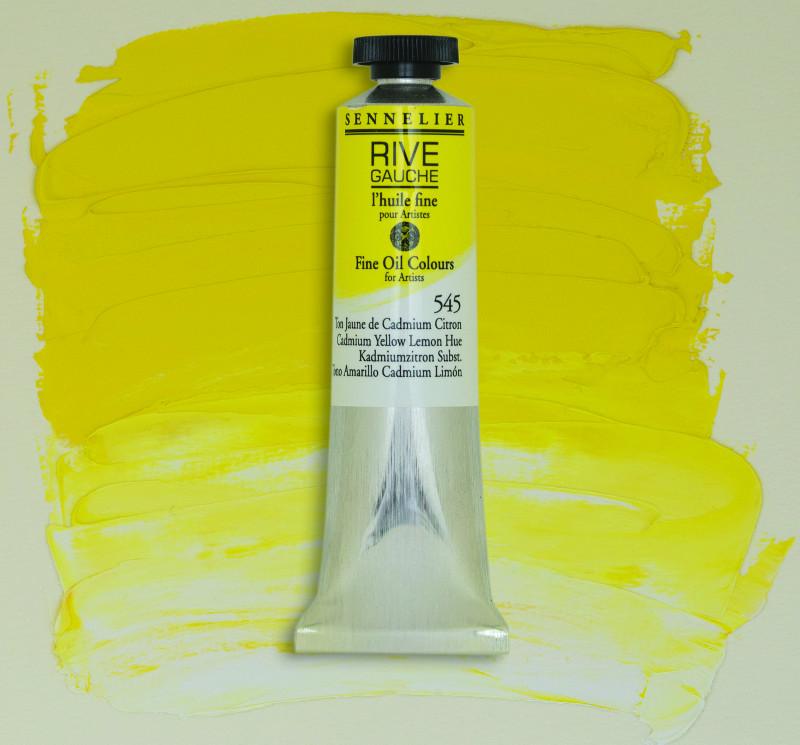 Oljefärg Sennelier Rive Gauche 40ml  Cadmium Yellow Lemon Hue 545 (3F)