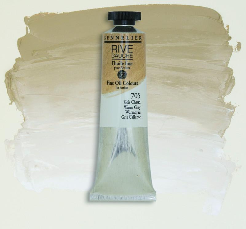 Oljefärg Sennelier Rive Gauche 40ml  Warm Grey 705 (3F)