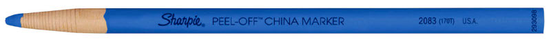 Sharpie China Marker Blue Tuck (12F)