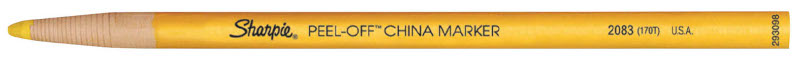Sharpie China Marker Yellow (12F)
