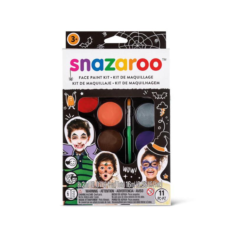 Ansiktskritset Snazaroo Face paint kit - halloween