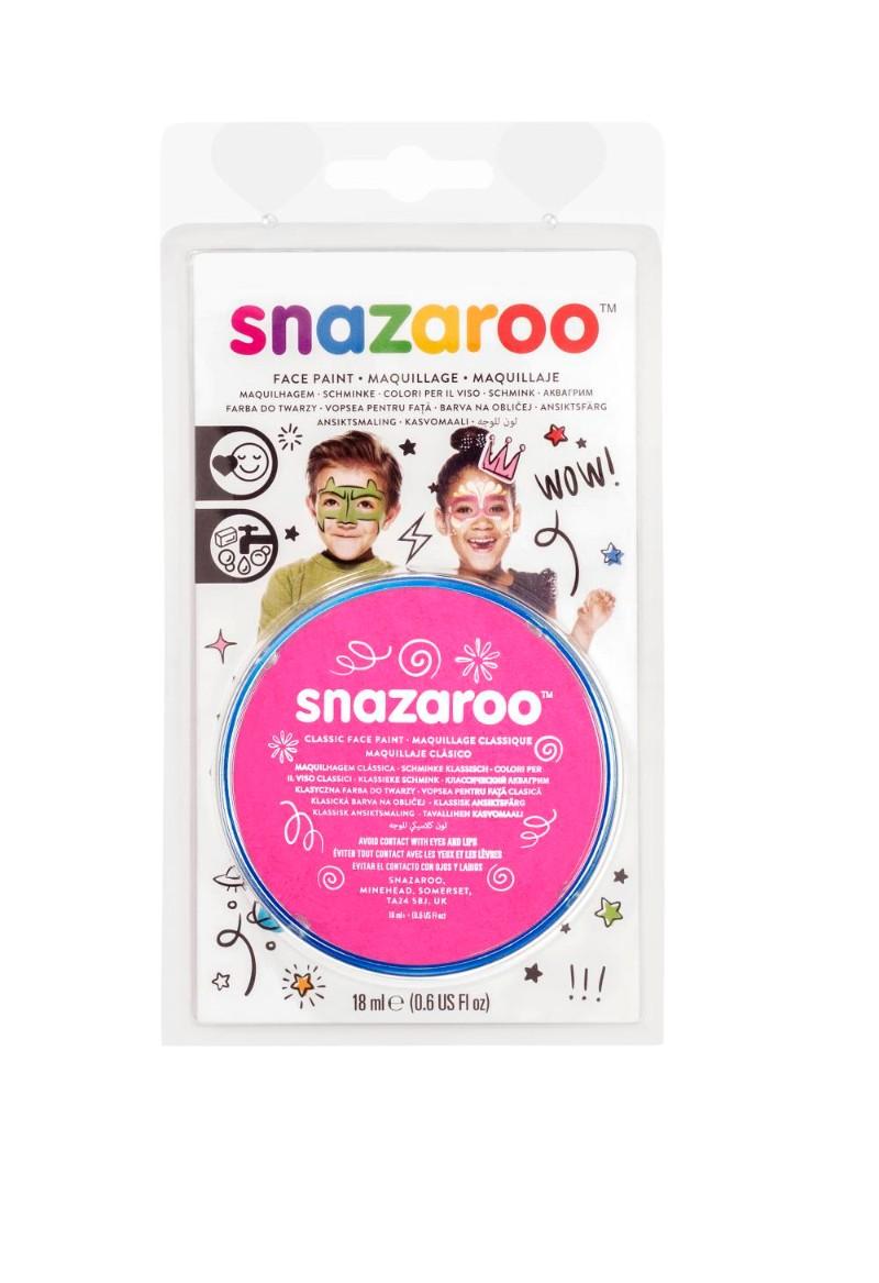 Ansiktsfärg Snazaroo 18ml Blister Bright pink (5F)