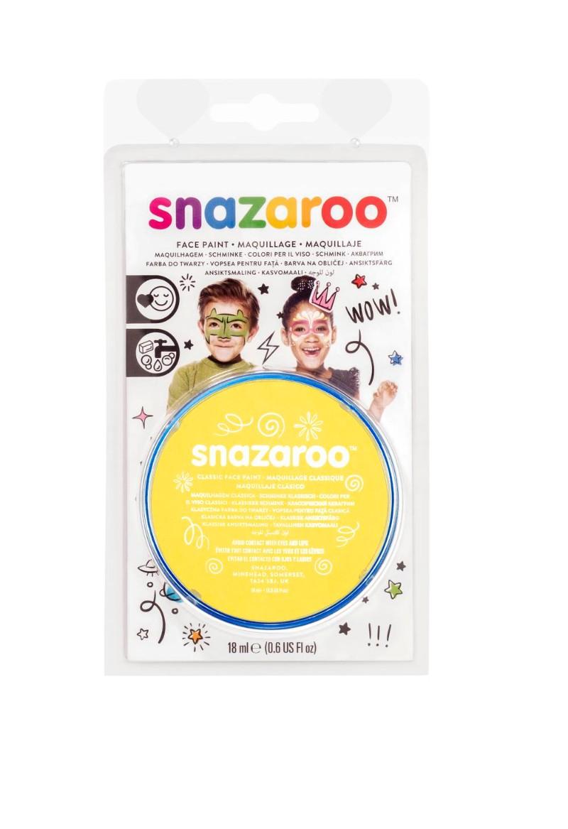 Ansiktsfärg Snazaroo 18ml Blister Bright yellow (5F)