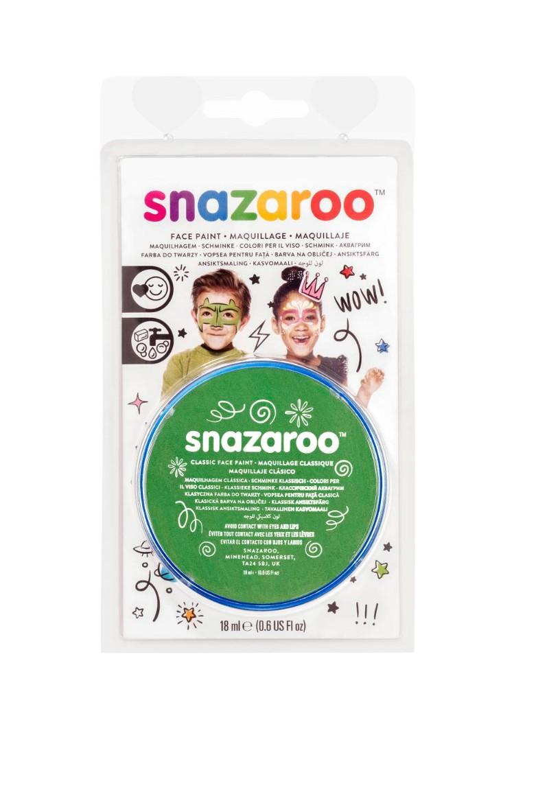 Ansiktsfärg Snazaroo 18ml Blister Grass green (5F)
