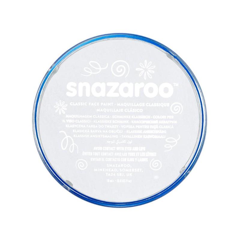 Ansiktsfärg Snazaroo 18ml Puck White (5F)