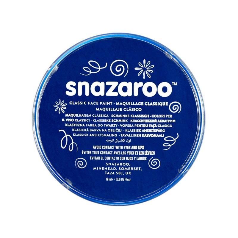 Ansiktsfärg Snazaroo 18ml Puck Dark blue      (5F)