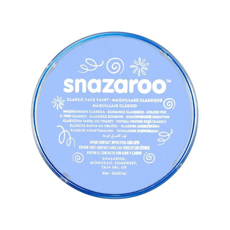 Ansiktsfärg Snazaroo 18ml Puck Pale Blue (5F)