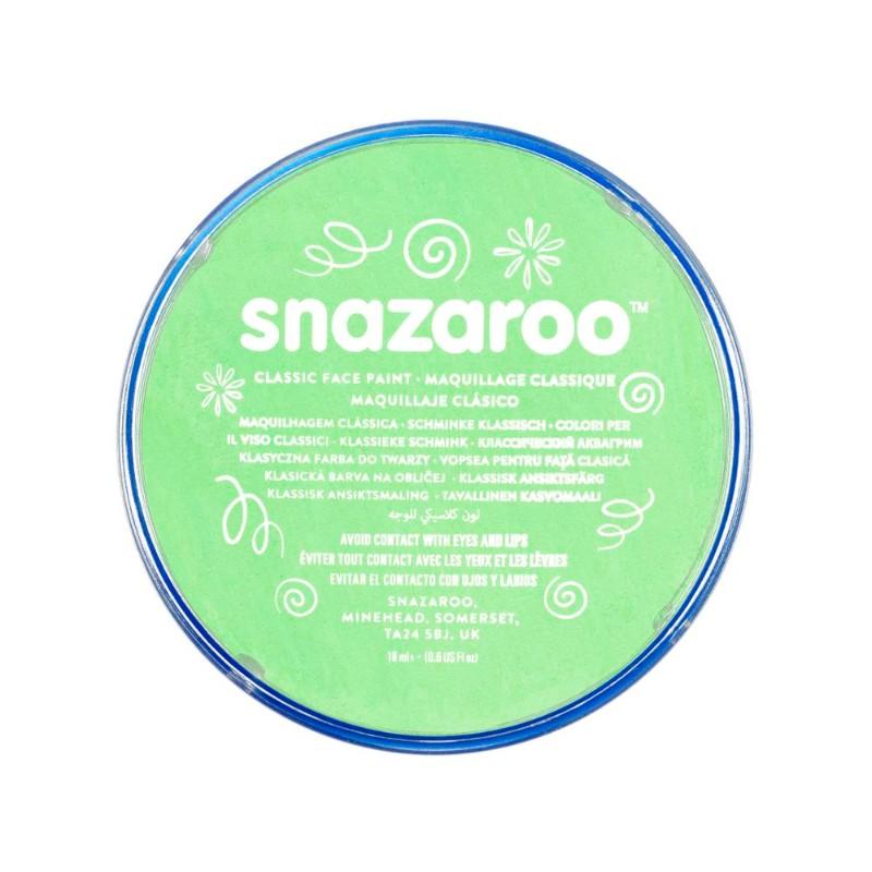Ansiktsfärg Snazaroo 18ml Puck Pale green       (5F)