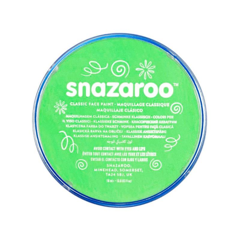 Ansiktsfärg Snazaroo 18ml Puck Lime green     (5F)