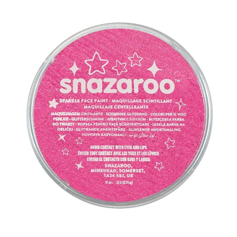 Ansiktsfärg Snazaroo 18ml Puck Skimrande Sparkle Pink (5F)