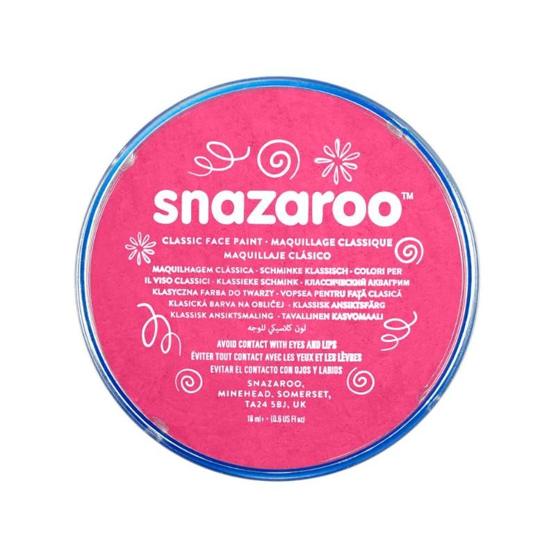 Ansiktsfärg Snazaroo 18ml Puck Fuchsia pink (5F)
