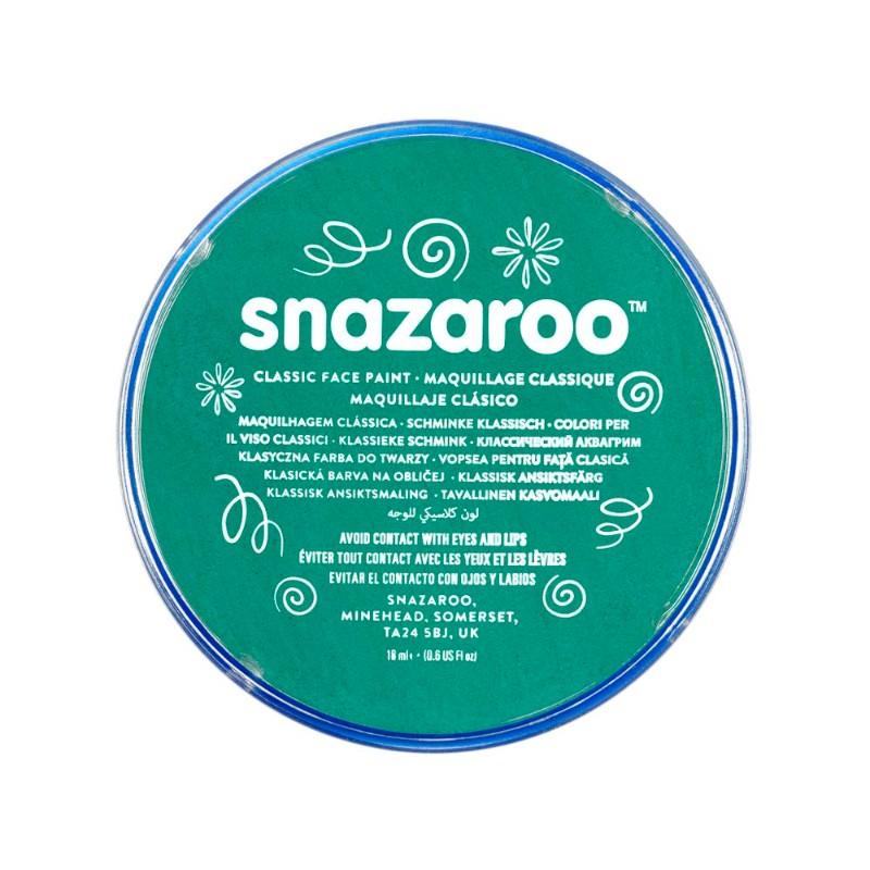 Ansiktsfärg Snazaroo 18ml Puck Teal     (5F)