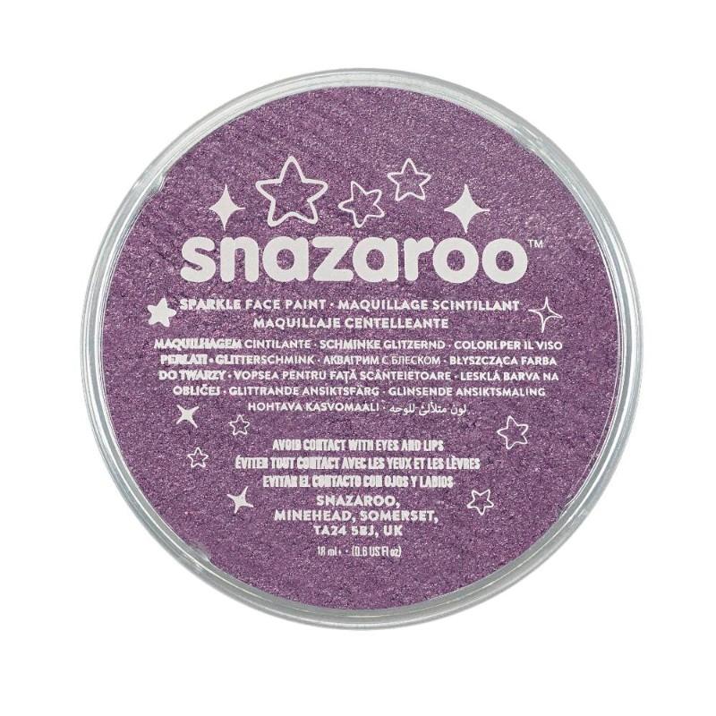 Ansiktsfärg Snazaroo 18ml Puck Skimrande Sparkle Lilac   (5F)