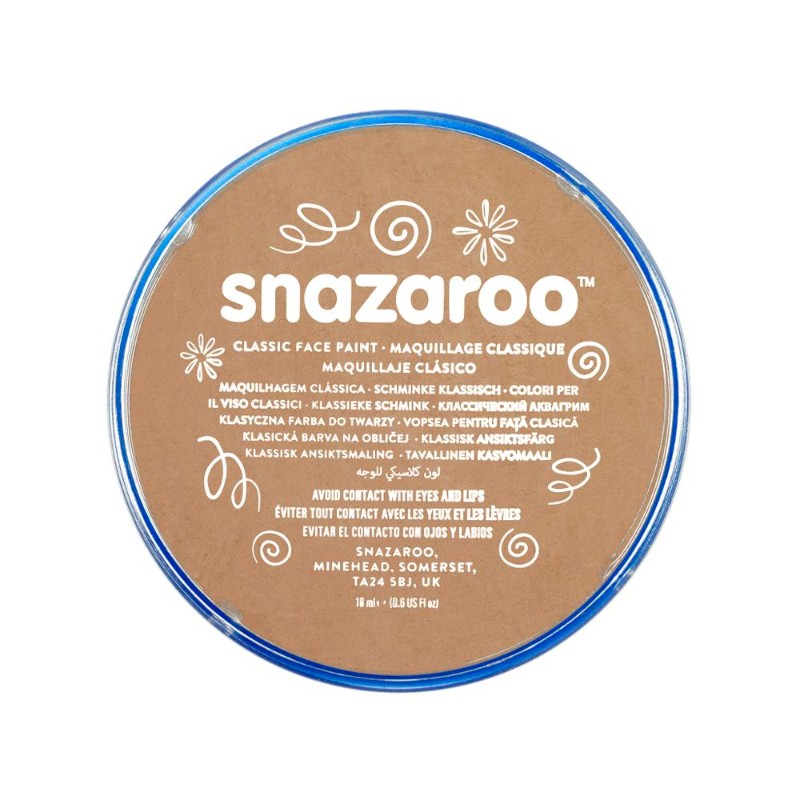 Ansiktsfärg Snazaroo 18ml Puck Light beige     (5F)