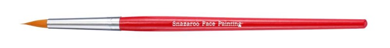 Ansiktspenselset Snazaroo Pensel professional rund (röd)