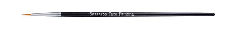 Ansiktspenselset Snazaroo Pensel professional fin rund (svart)