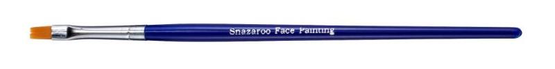 Ansiktspenselset Snazaroo Fine flat brush (blue)