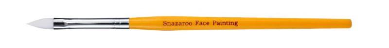 Ansiktspensel Snazaroo Pensel professional medium flat (gul)