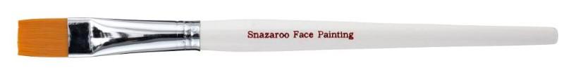 Ansiktspenselset Snazaroo Large flat brush (white)