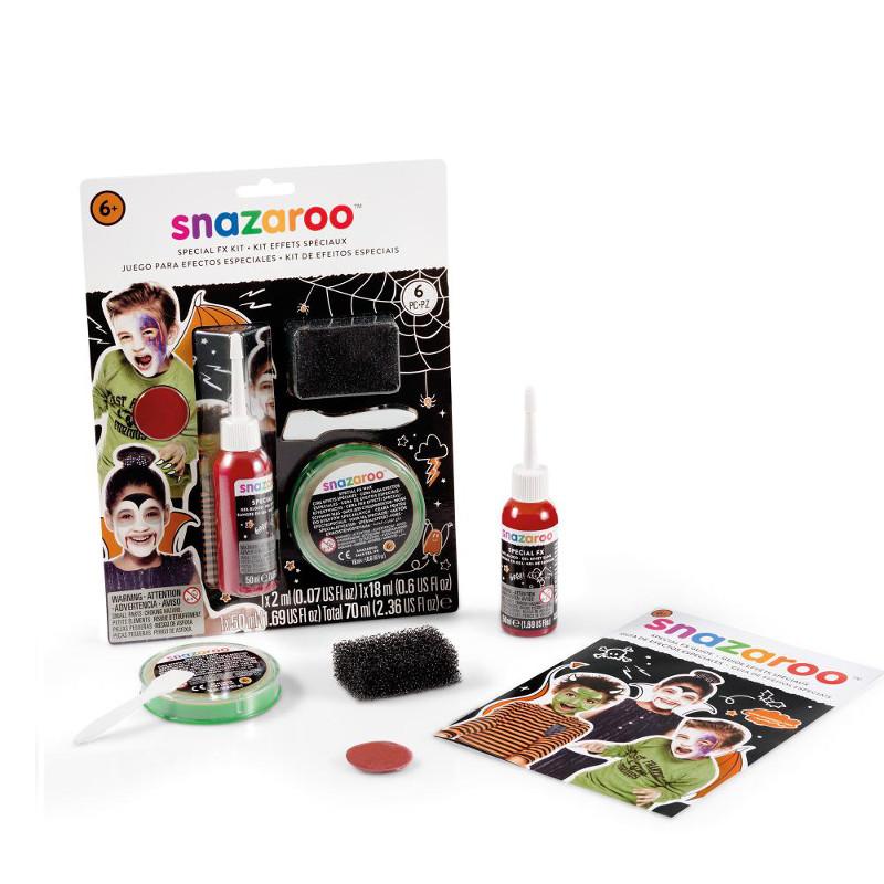 Ansiktskritset Snazaroo Special FX kit Nordics